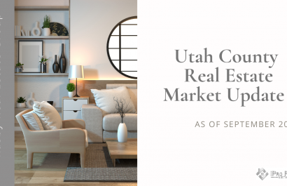 Utah County Real Estate Update- September 2020